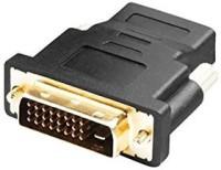 C&E HDMI Female to DVI-D Male Adapter CNE63195(Black, For TV, 200.787 m)