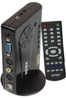 View Intex LCD SKY-PRO IT-195 FM TV Tuner Card(Black) Laptop Accessories Price Online(Intex)