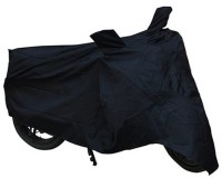 Bikenwear Two Wheeler Cover for Hero(Passion, Black)