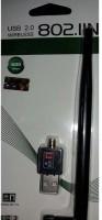 AKSHI USB 2.0 Wireless 802.11b/g/n USB Adapter(Black)