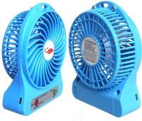 View SR High Speed Cooler Portable Fan Rechargeable MINI USB FAN 7 USB Fan(Black) Laptop Accessories Price Online(SR)