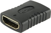 View AFED HDMI Female to Female Coupler HDMI Female to Female Coupler HDMI Connector(Black) Laptop Accessories Price Online(AFED)