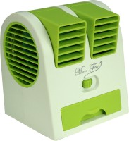View ZBLACK Mini cooler Mini Cooler USB Fan(Green) Laptop Accessories Price Online(Zblack)