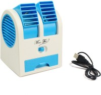 View Quit-X VBX-102 ™ Mini Cooling Battery Operated™ Portable Air Conditioner Fragrances Cooler USB Fan(Multicolor) Laptop Accessories Price Online(Quit-X)