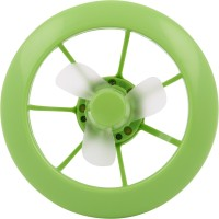 Smiledrive Hand Held with LED Light 2 in1 Series USB Fan(Green)