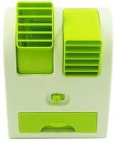 View Callmate Cooler Portable USB Fan(Green) Laptop Accessories Price Online(Callmate)
