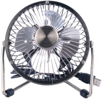 View Gold Dust Portable LUSBFMO_101 USB Fan(Black) Laptop Accessories Price Online(Gold Dust)