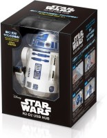 View Star Wars R2-D2 830 USB Hub(White) Laptop Accessories Price Online(Star Wars)