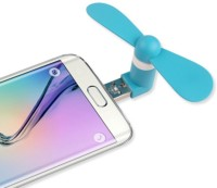 View V2 USB Fan/ Portable USB fan/ Mini Mobile Cooler/ Mini USB fan for only OTG enabled android phones USB-OTG-FAN USB Fan(Assorted Color) Laptop Accessories Price Online(V2)