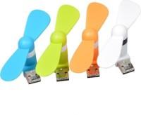 View HAPS MINI UF1 USB Fan(MIX COLOR) Laptop Accessories Price Online(HAPS)