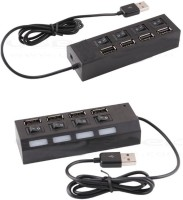 View Entif 4 in1 usb Port Hub 4 in 1 Mutiple 4 port Compatiable with 2.0 USB Hub(Black) Laptop Accessories Price Online(Entif)