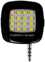 View SJLR 4 LED Selfie Light Flash LED Led Light(Black) Laptop Accessories Price Online(SJLR)