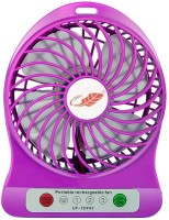 View Ikon portable 18650 USB Fan(Multicolor) Laptop Accessories Price Online(Ikon)