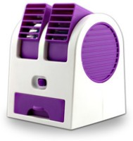 View Speed Compact Mini Water Cooler Turbine With Aroma Air USB Fan(Purple) Laptop Accessories Price Online(Speed)