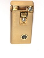 View AdorBella Golden bronze with stone windproof 1x Cigarette Lighter(Golden) Laptop Accessories Price Online(AdorBella)