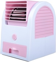 View Riddhi Siddhi Cooler Mini Portable USB Fan(Pink) Laptop Accessories Price Online(Riddhi Siddhi)
