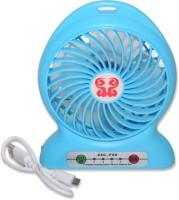 View Auto Hub Portable F68 USB Fan(Multicolor) Laptop Accessories Price Online(Auto Hub)