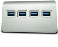 Shrih Portable 4 Port SH - 0636 USB Hub(Grey)