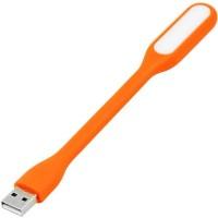 View ShopeGift Flexi USBLT-ORNG001 Led Light(Orange) Laptop Accessories Price Online(ShopeGift)