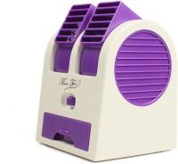 VibeX VBX-01 ™ Mini Cooling Travel Cooler Air Conditioner™ Desk Portable USB Fan(Purple)