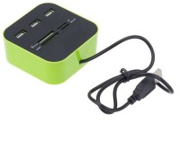 Shrih All in One SH-0189 Card Reader(Green)