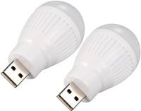 View Zarsa Bulb USB_2LEDBULB_W Led Light(White) Laptop Accessories Price Online(Zarsa)