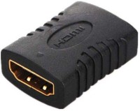 Redeemer Sleek Female To Female Gender Changer, Coupler, extender HDMI Connector(Black)