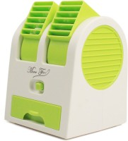 VibeX VBX-01 ® Mini Cooler Air Conditioner™ notebook Power Laptop PC Cooling USB Fan(Green)
