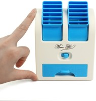 View Quit-X DXL-669 ® Mini Cooler Laptop PC Cooling Bladeless™ Desk Super Air Conditioner USB Fan(Multicolor) Laptop Accessories Price Online(Quit-X)
