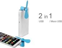 View GG Enterprises Portable USB fan for android phones USB1234 USB Fan(White, black, green, orange) Laptop Accessories Price Online(GG Enterprises)