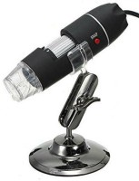 Shrih 8 LED 3MP Interpolated USB 200X Magnification Digital Microscope SH-03532 USB Cable(Black)
