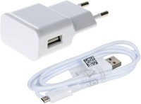 View Pear Usb Wall Charger With Data Sync And charger Cable For Samsung Usb Wall Charger With Data Sync And charger Cable USB Charger(White) Laptop Accessories Price Online(Pear)