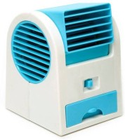 View Crown air cooler SFRTC02 USB Fan(White, Blue) Laptop Accessories Price Online(Crown)
