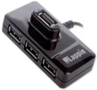 iBall Piano 423 USB Hub(Black)