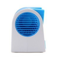 View Callmate Portable Cooler Portable Cooler USB Fan(Blue) Laptop Accessories Price Online(Callmate)