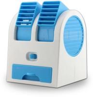 View Quit-X VBX-101 ® Mini Air Circulator™ Desktop USB Fan(Multicolor) Laptop Accessories Price Online(Quit-X)
