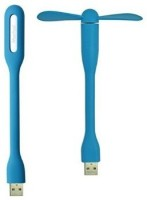 View Frontech LED22V5W LED&FAN USB Fan, Led Light(Multicolor) Laptop Accessories Price Online(Frontech)