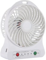View Gold Dust Portable MUSBFVKI_101 USB Fan(White) Laptop Accessories Price Online(Gold Dust)
