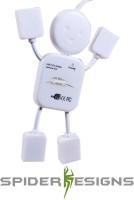 View Spider Designs Little Human sd320 USB Hub(White) Laptop Accessories Price Online(Spider Designs)