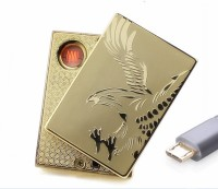 View Bs Spy Flameless Rechargeable GLE4ZZ Cigarette Lighter(Gold) Laptop Accessories Price Online(Bs Spy)