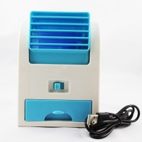 Shopizone Cooler Mini USB Fan(Blue)