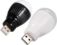 View Zarsa Bulb Led Light(Black, White) Laptop Accessories Price Online(Zarsa)