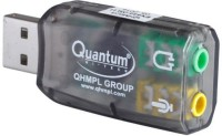 QHMPL QHM 623 3D SOUND Virtual 5.1 Stereo & Mic QHM623 Sound Card(Black)