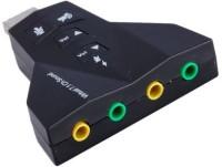 View RoQ Viritual 7.1 Channel Audio Sound Card(Black) Laptop Accessories Price Online(ROQ)