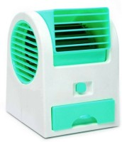 View Riddhi Siddhi Cooler Mini Portable USB Fan(Green) Laptop Accessories Price Online(Riddhi Siddhi)