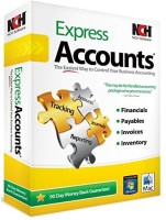 NCH Express Accounts Accounting(Lifetime, 1 PC)