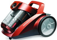 View REDMOND Dual cyclonic HEPA filtration, Bagless RV-C316 red Dry Vacuum Cleaner(Red) Home Appliances Price Online(Redmond)