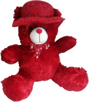 Saugat Traders Red Cap Teddy  - 13.2 Inch(Red)