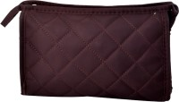 Styler Square Design Mini Makeup Pouch Makeup Vanity Box(Brown) - Price 99 80 % Off