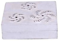 Onlineshoppee Afr563 Jewellery Vanity Box(White)